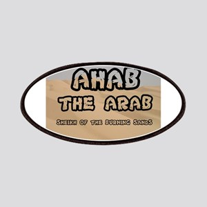 AHAB THE ARAB - SHEIKH OF THE BURNING SANDS Patch