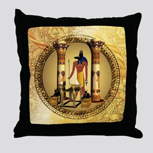 Anubis, Throw Pillow
