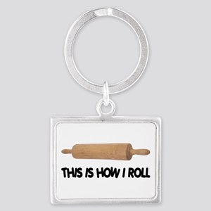 How I Roll Baking Keychains