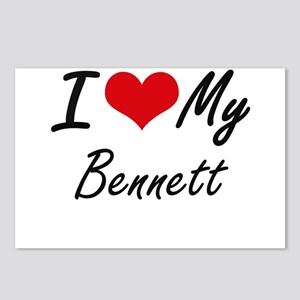 I Love My Bennett Postcards (Package of 8)