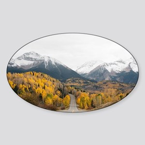 Wilderness Road, Mountains and Forest Sticker
