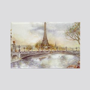 Eiffel Tower Painting Magnets