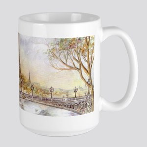 Eiffel Tower Painting Mugs