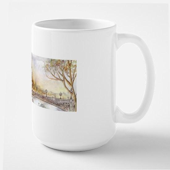 Eiffel Tower Painting Mugs