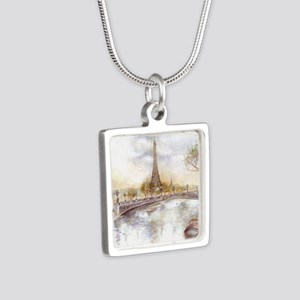 Eiffel Tower Painting Necklaces