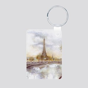 Eiffel Tower Painting Keychains