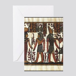 Ancient Egyptians Greeting Cards