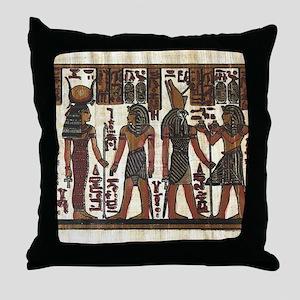 Ancient Egyptians Throw Pillow