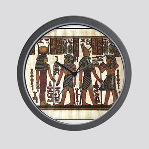 Ancient Egyptians Wall Clock