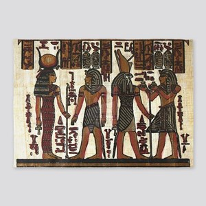 Ancient Egyptians 5'x7'Area Rug