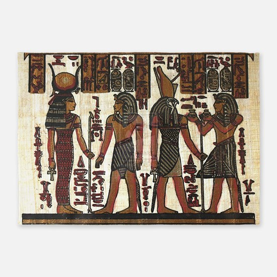Ancient Egyptians 5'x7'Area Rug