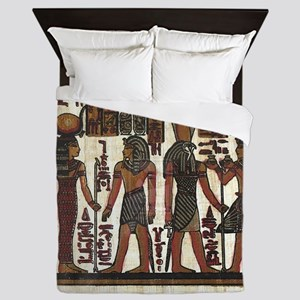 Ancient Egyptians Queen Duvet