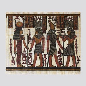 Ancient Egyptians Throw Blanket