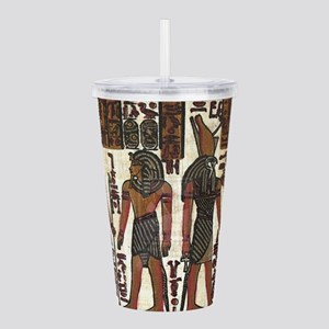 Ancient Egyptians Acrylic Double-wall Tumbler