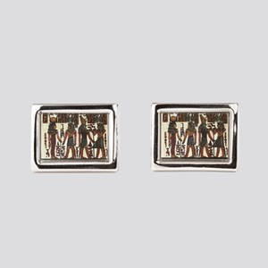 Ancient Egyptians Rectangular Cufflinks