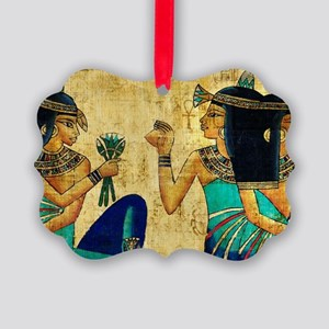 Egyptian Queens Picture Ornament