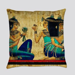 Egyptian Queens Everyday Pillow