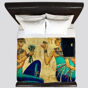 Egyptian Queens King Duvet