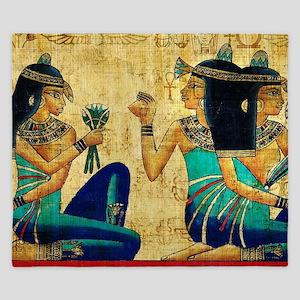 Egyptian Queens King Duvet
