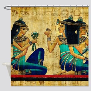 Egyptian Queens Shower Curtain