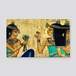 Egyptian Queens Rectangle Car Magnet