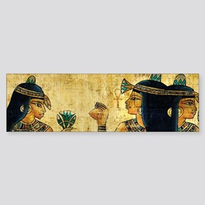 Egyptian Queens Bumper Sticker