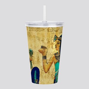 Egyptian Queens Acrylic Double-wall Tumbler