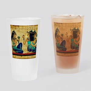 Egyptian Queens Drinking Glass