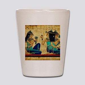 Egyptian Queens Shot Glass