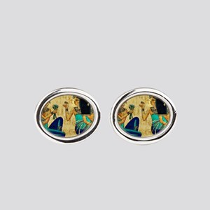 Egyptian Queens Oval Cufflinks