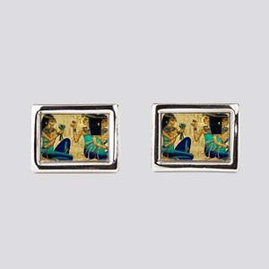 Egyptian Queens Rectangular Cufflinks