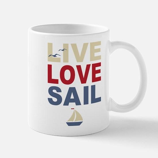 Live Love Sail Mug