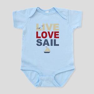 Live Love Sail Infant Bodysuit