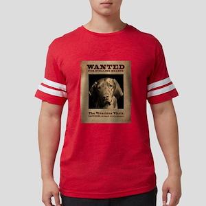 The Vivacious Vizsla Mens Football Shirt T-Shirt
