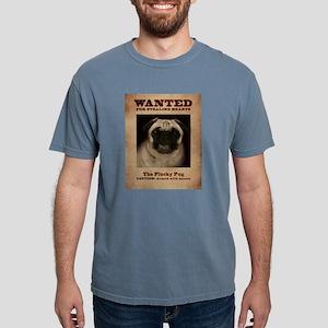 The Plucky Pug Mens Comfort Colors Shirt T-Shirt