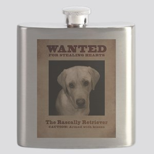 The Rascally Retriever Flask