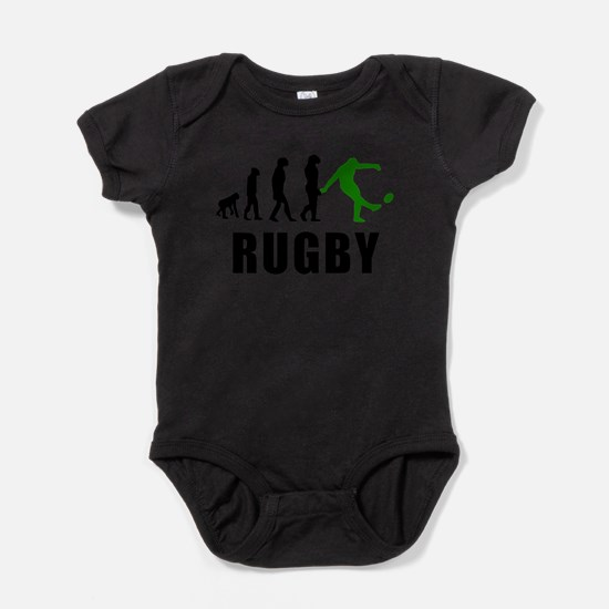 Rugby Kick Evolution (Green) Body Suit