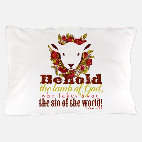 Lamb of God Pillow Case