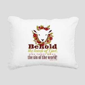 Lamb of God Rectangular Canvas Pillow