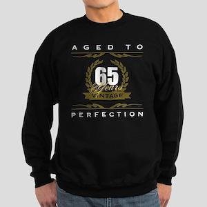 Vintage 65th Birthday Sweatshirt (dark)