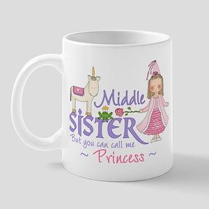 Unicorn Princess Middle Sister Mug