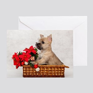 Cairn Terrier Pup Greeting Cards