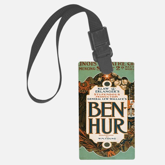 Cool Vintage musical theater Luggage Tag