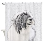 Bearded Collie Shower Curtain