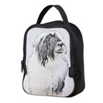Bearded Collie Neoprene Lunch Bag