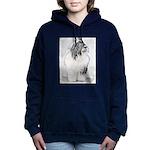 Bearded Collie Women's Hooded Sweatshirt