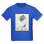 Bearded Collie Kids Dark T-Shirt
