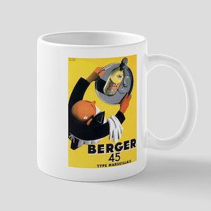 Vintage poster - Berger Mugs