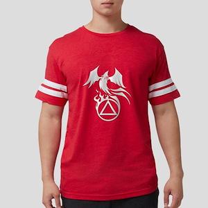 A.A. Logo Phoenix B&W - T-Shirt