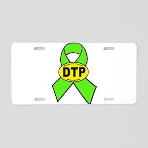 DTP Aluminum License Plate